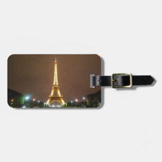 Étiquette À Bagage Beau Tour Eiffel