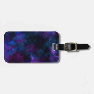 Étiquette À Bagage Belle image de galaxie de l'espace