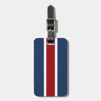 Étiquette À Bagage Bleu blanc rouge de emballage britannique de