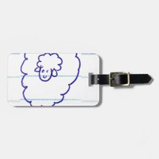 Étiquette À Bagage Bob les moutons seuls