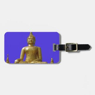 Étiquette À Bagage Bouddha
