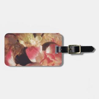 Étiquette À Bagage Bouquet