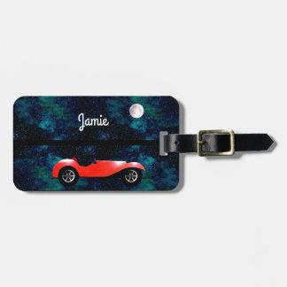 Étiquette À Bagage Cadeaux classiques personnalisés de voiture