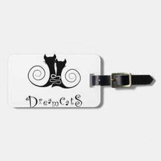 Étiquette À Bagage Casseminia - dreamcats avec le texte