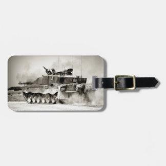 Étiquette À Bagage Char de bataille du challengeur 2 d'armée