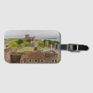 Étiquette À Bagage Château médiéval Kent Angleterre de Douvres