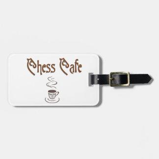 Étiquette À Bagage Chess Café
