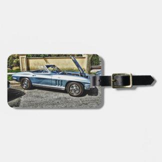 Étiquette À Bagage Chevrolet Corvette 1966