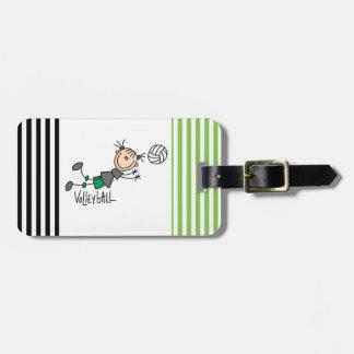 Étiquette À Bagage Chiffre T-shirts et cadeaux de bâton de volleyball