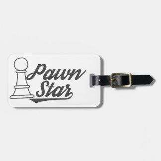 Étiquette À Bagage club d'échecs d'étoile de gage