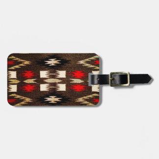 Étiquette À Bagage Copie tribale de conception de Navajo de Natif