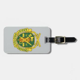 Étiquette À Bagage Corps de police militaire d'armée