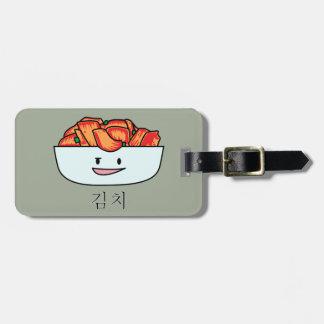 Étiquette À Bagage Cuvette heureuse de Kimchi Kimchee - conceptions