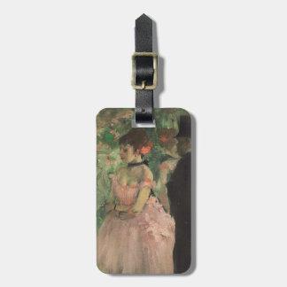 Étiquette À Bagage Danseurs d'Edgar Degas | à l'arrière plan,