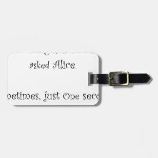Étiquette À Bagage De quelle longueur est pour toujours Alice