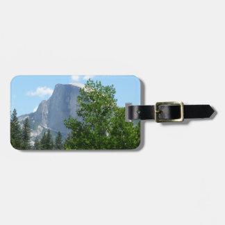 Étiquette À Bagage Demi de dôme en été de parc national de Yosemite