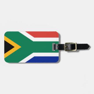 Étiquette À Bagage Drapeau de l'Afrique du Sud - Vlag van Suid-Afrika