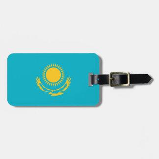 Étiquette À Bagage Drapeau de l'identification facile de Kazakhstan