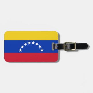 Étiquette À Bagage Drapeau de l'identification facile du Venezuela