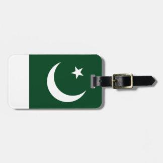 Étiquette À Bagage Drapeau du Pakistan