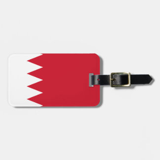 Étiquette À Bagage Drapeau national du monde du Bahrain