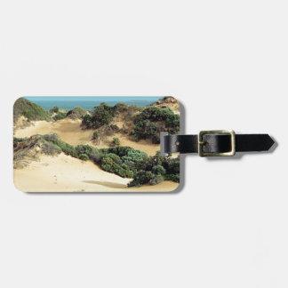 Étiquette À Bagage Dunes de sable balayées par le vent, Australie