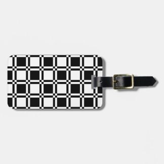 Étiquette À Bagage Échantillon de panneau d'échecs