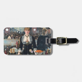 Étiquette À Bagage EDOUART MANET - Une barre chez le Folies-Bergere