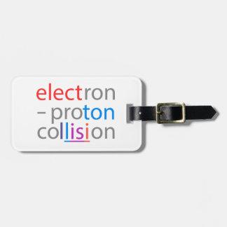 Étiquette À Bagage électron-Proton