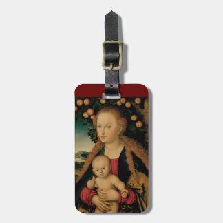 Étiquette À Bagage Enfant de Vierge sous le pommier Cranach