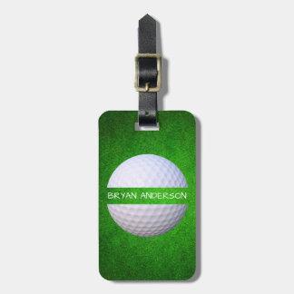Étiquette À Bagage Étiquette chique de bagage de golf