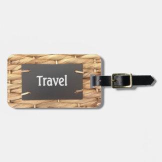 Étiquette À Bagage Étiquette de bagage