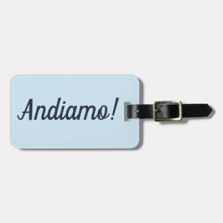 Étiquette À Bagage Étiquette de bagage d'Andiamo