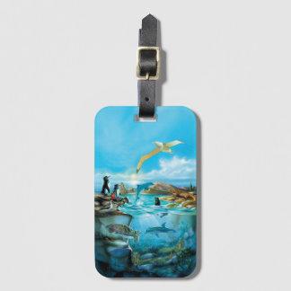 Étiquette À Bagage Étiquette de bagage d'animaux de Galapagos