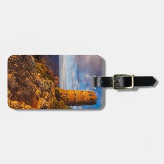 Étiquette À Bagage Étiquette de bagage de canyon grand