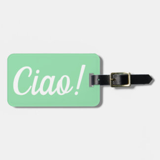 Étiquette À Bagage Étiquette de bagage de Ciao