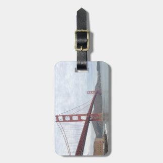 Étiquette À Bagage Étiquette de bagage de golden gate bridge