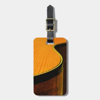 Étiquette À Bagage Étiquette de bagage de guitare acoustique