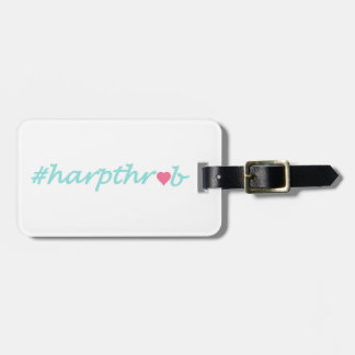Étiquette À Bagage Étiquette de bagage de #Harpthrob