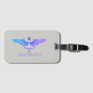 Étiquette À Bagage Étiquette de bagage de logo de Savarona