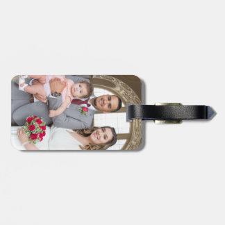 Étiquette À Bagage Étiquette de bagage de mariage d'Allison et