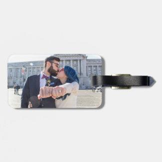 Étiquette À Bagage Étiquette de bagage de mariage de Katrina et de