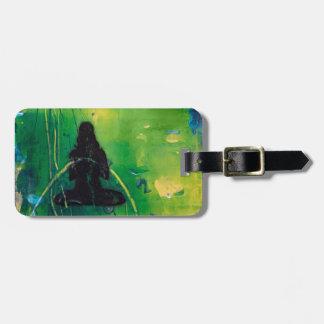 Étiquette À Bagage Étiquette de bagage de Namaste