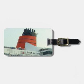 Étiquette À Bagage Étiquette de bagage de pile de qv