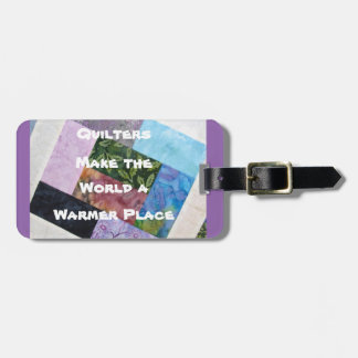 Étiquette À Bagage Étiquette de bagage de Quilters
