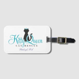 Étiquette À Bagage Étiquette de bagage de reine de Kitty