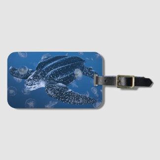 Étiquette À Bagage Étiquette de bagage de tortue de mer de
