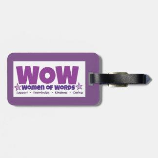 Étiquette À Bagage Étiquette de bagage de wow