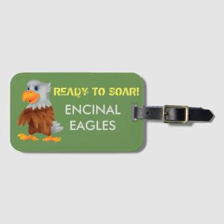 Étiquette À Bagage Étiquette de bagage d'Eddie Eagle