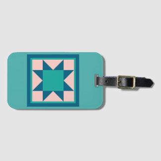 Étiquette À Bagage Étiquette de bagage - étoile de dent de scie